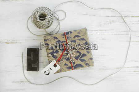 printed packing paper stamp cord packet