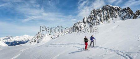 france les contamines ski mountaineering