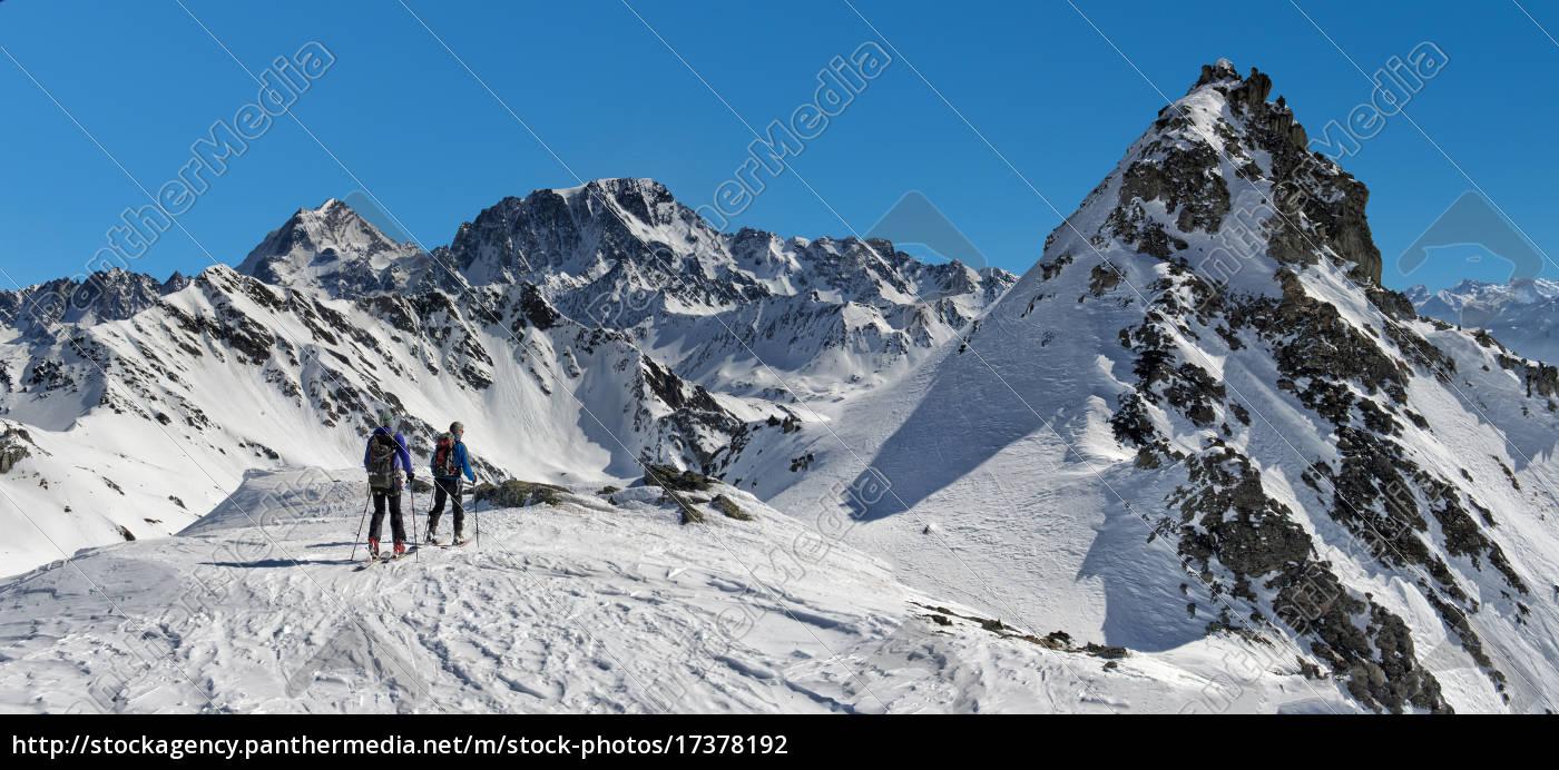 italy, , grand, st, bernard, pass, , mont - 17378192