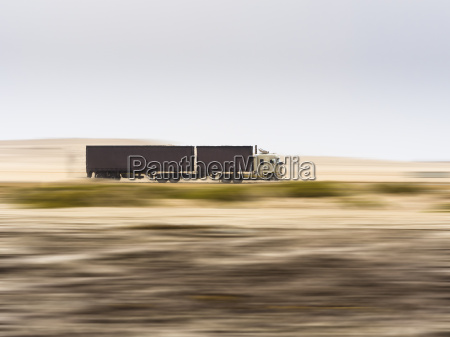 namibia erongo truck drivin fast on