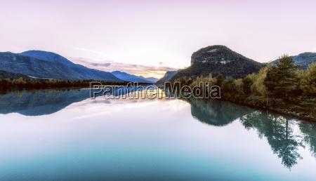 austria carinthia gallizien lake in autumn