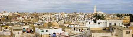 morocco casablanca panoramic cityscape