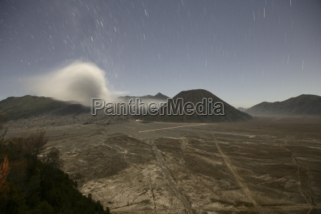 indonesia java volcanos bromo batok and