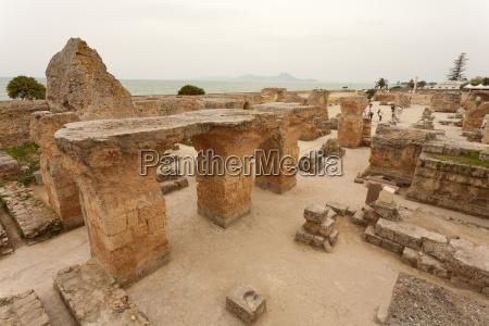 tunisia archaeological site of carthage