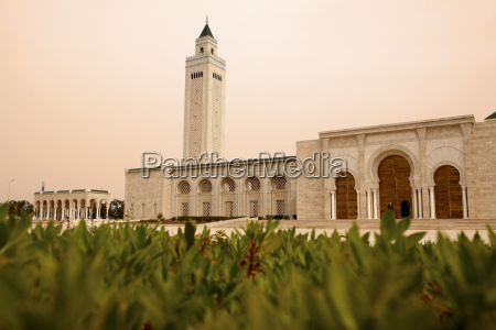 tunisia tunis carthage al abidin mosque