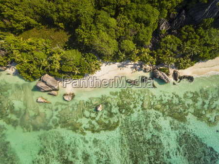 seychelles la digue island anse source