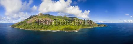 seychelles silhouette island point ramasse tout