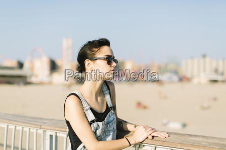 usa new york coney island young