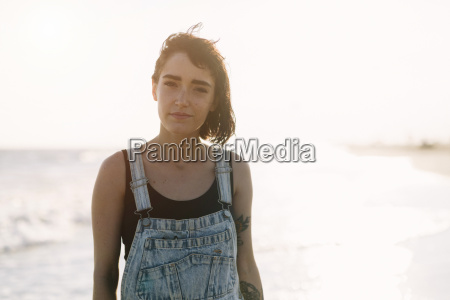 usa new york coney island portrait