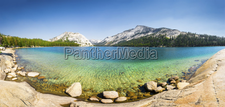 california mountain lake yosemite national park