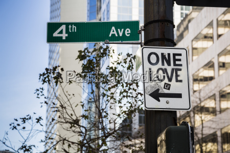 usa washington seattle one love sign