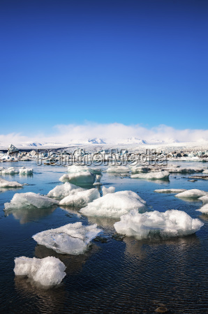 iceland vatnajoekull national park jokulsarlon ice
