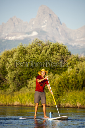 stand up paddle boarding teton river