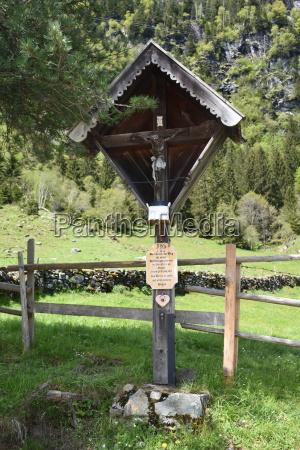 wayside cross wooden cross cross jesus
