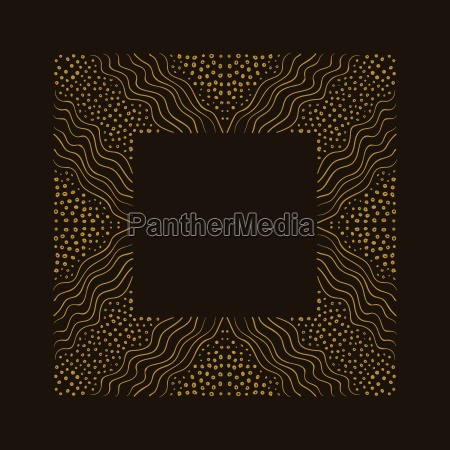 vector hand drawn frame border is