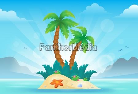 tropical island theme image 3