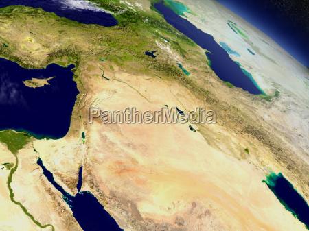 israel lebanon jordan syria and iraq