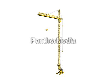 construction site crane free