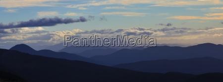 sunset view from mt robert