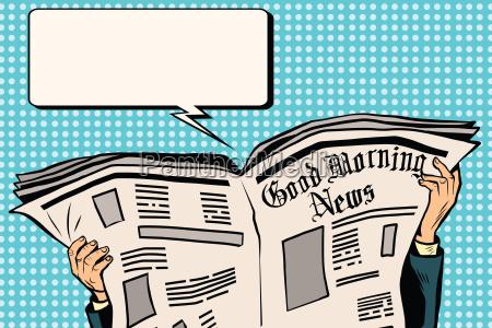 press newspaper read news