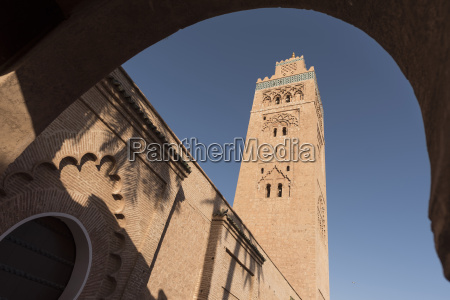 koutoubia mosque medina marrakesh morocco