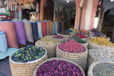 store in market marrakesh morocco