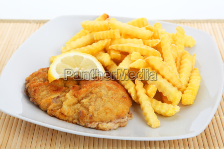 viennese schnitzel to frit frit lemon