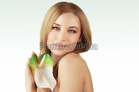 gentle woman at spa