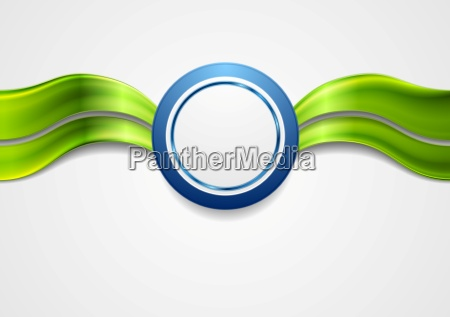 corporate bright abstract background waves and