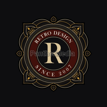 vector luxury emblem design template