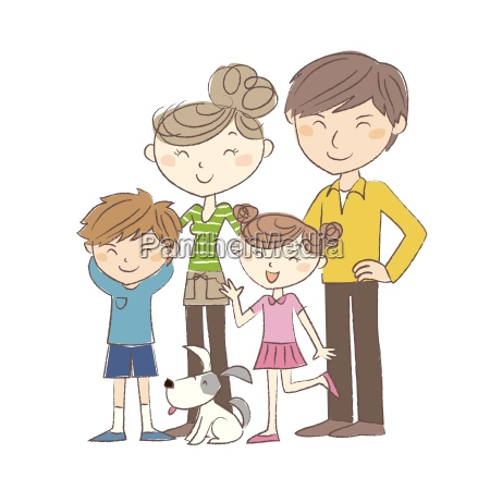 family parents and children