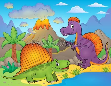 image with dinosaur thematics 1