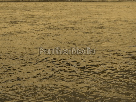 water background sepia