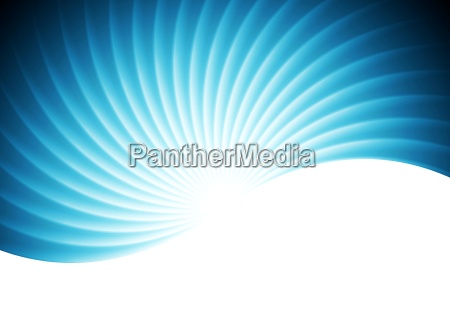 abstract swirl wavy blue background