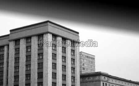 stalin architecture in moscow black and