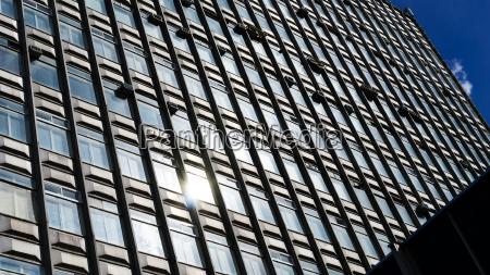horizontal vivid business skyscraper background backdrop
