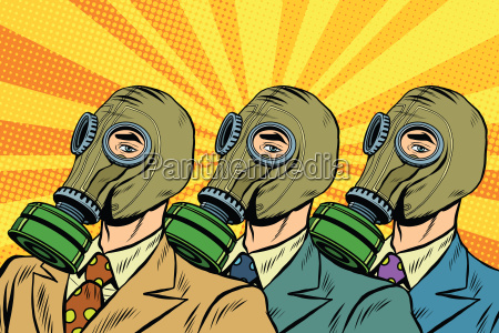 people in gas masks the sots