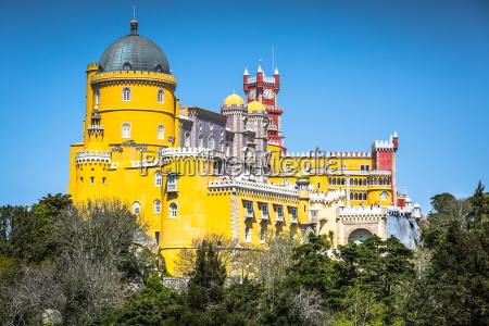 sintra portugal at pena national palace