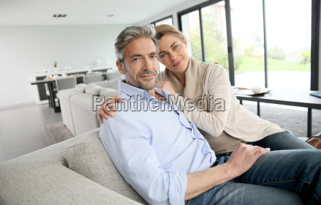 portrait of 45 year old couple