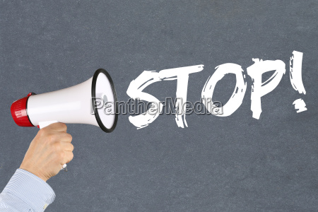 stop stop waiting business concept of