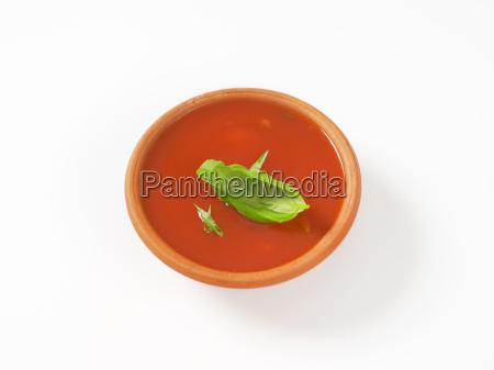 thick tomato soup