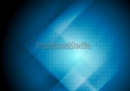 dark blue abstract tech background