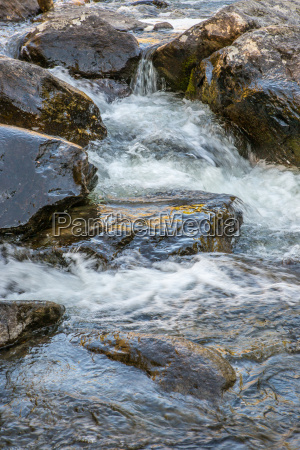 rapid flow of the chulcha river