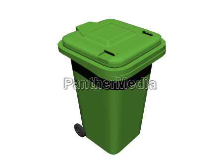 exempted green dustbin