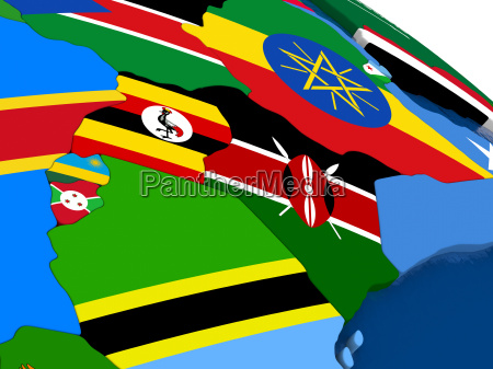 kenya uganda rwanda and burundi on