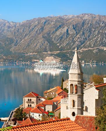 perast harbor montenegro