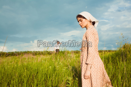the healthy rural life the woman