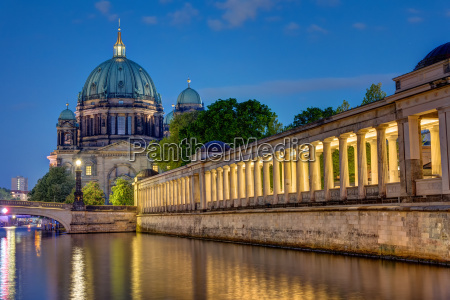the cathedral and the museum island