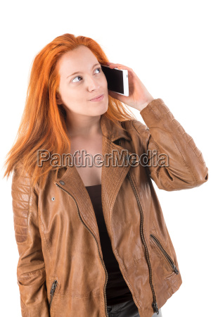 red hair girl