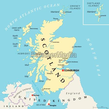 independent scotland political map